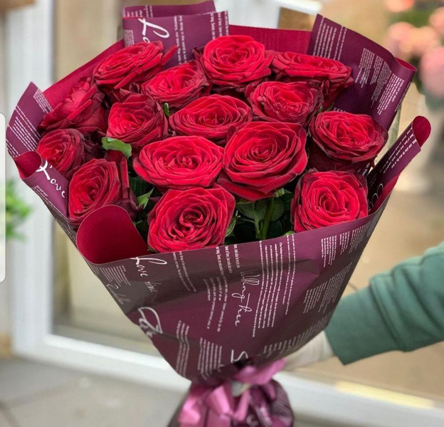 Розы 15шт 60см