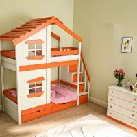 Кровать двухъярусная Домик Roof №3
