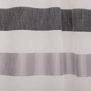 """Тюль """"Этель"""" 145х280 Медный восход (горизонтальная полоса) б/утяжелителя, 100% п/э"""
