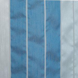 """Тюль """"Этель"""" Гамма синий 140х280 см (вертикальная полоса) 50 г/м?, вуаль, 100% п/э"""