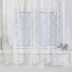 Тюль со шторной лентой 175х275 см, белый 97, пэ 100%   4790258