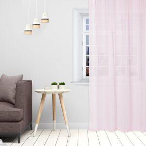 Тюль «Этель» 135?150 см, цвет розовый, вуаль, 100% п/э