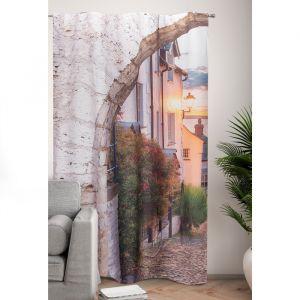 Фотошторы Каменная арка 145х260 см, 2шт, габардин, пэ 100%   4519243