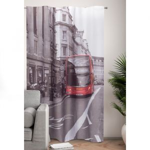 Фотошторы Классика Лондона 145х260 см, 2шт, габардин, пэ 100%   4519244