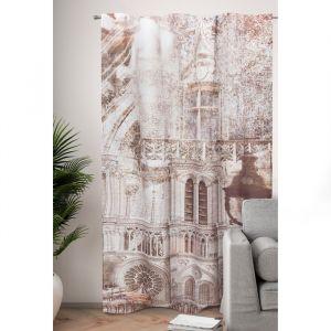 Фотошторы Париж в стиле ретро 145х260 см, 2шт, габардин, пэ 100%   4519248