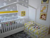 Кровать домик угловая Fairy Land №41, любые размеры