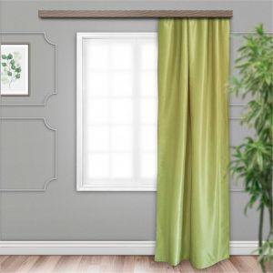 Штора портьерная Бамбук 135х260 см 1 шт, зелёный, жаккард, пэ 100%   4278712