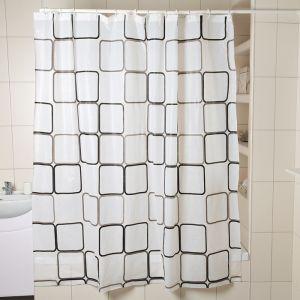 """Штора для ванной 180?180 см """"Графика"""", РEVA"""