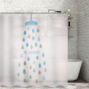 """Штора для ванной 180?180 см """"Капли"""", EVA"""