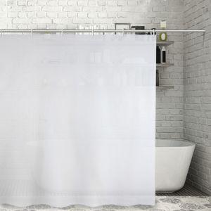 """Штора для ванной 180?180 см """"Экономь"""", PEVA, цвет белый"""