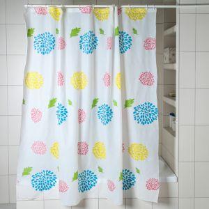Штора для ванной «Салют», 180?180 см, PEVA