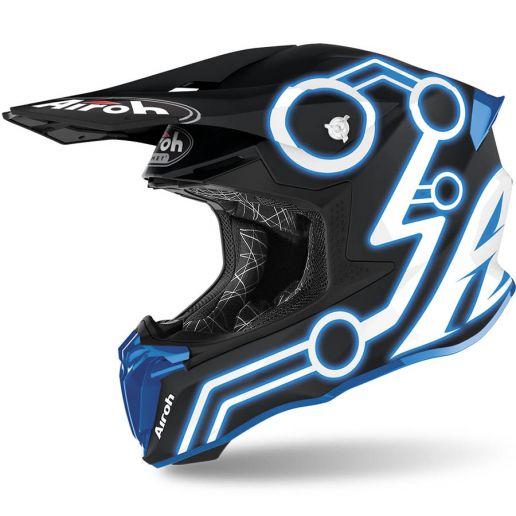 Airoh Twist 2.0 Neon Azure шлем внедорожный
