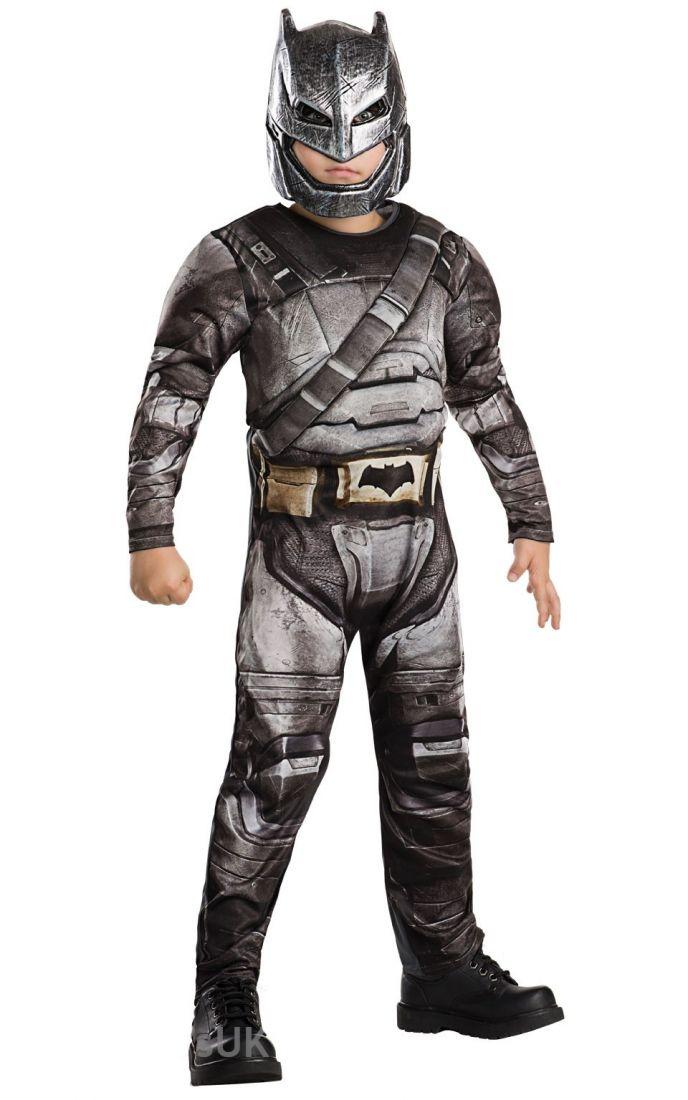 Детский костюм Бэтмена Бронированный Dlx