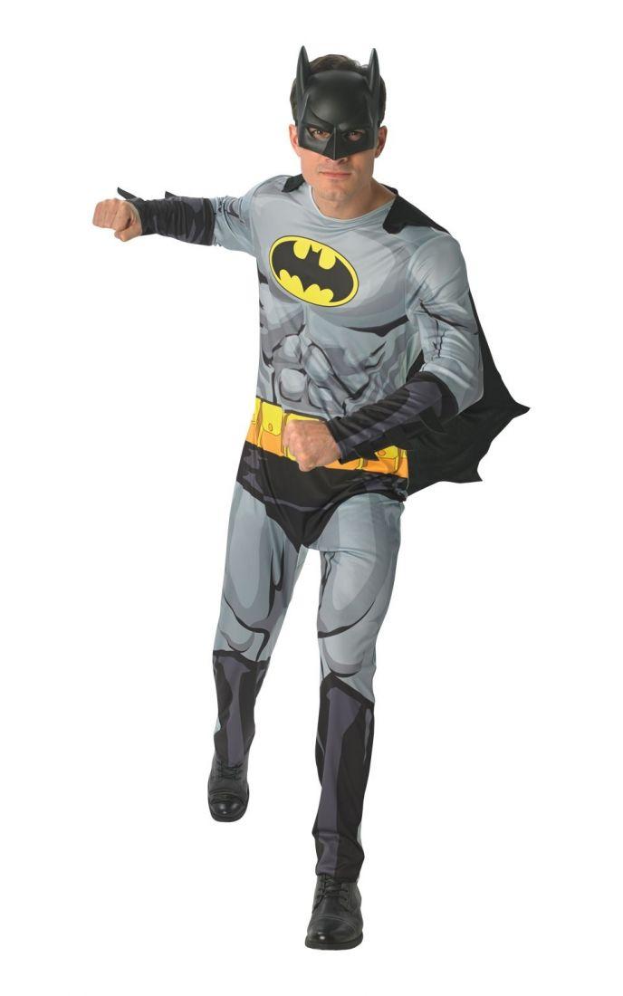 Костюм Бэтмена из комиксов для взрослых
