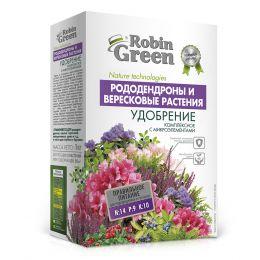 Удобрение сухое «Робин Грин» минеральное для Рододендронов и вересковых растений