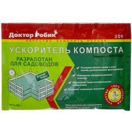 Ускоритель Доктор Робик 209 компостирования 60 г