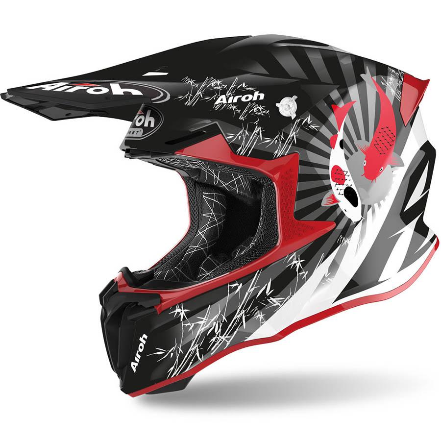 Airoh Twist 2.0 Katana Red Gloss шлем внедорожный