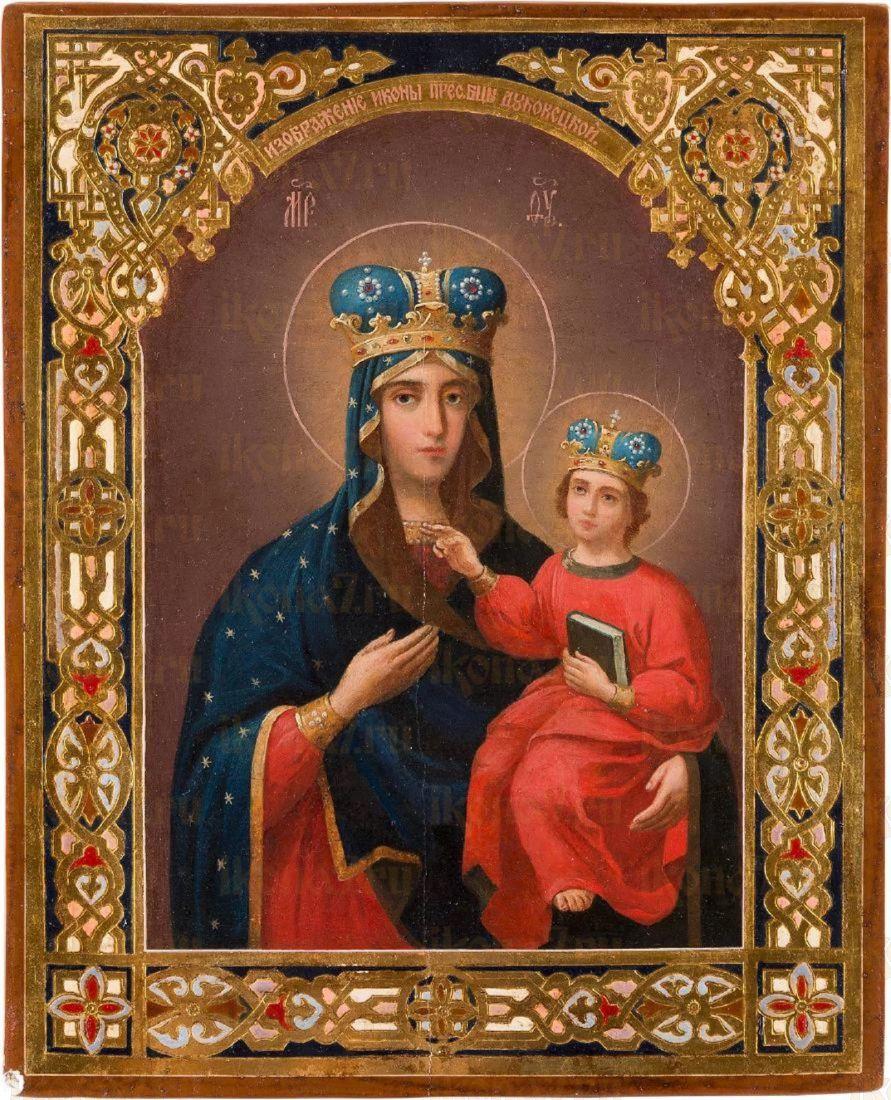 Икона Богородицы Дубовичская
