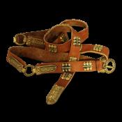 Пояс на Южное Приладожье  X - XI вв. с двумя разделительными кольцами