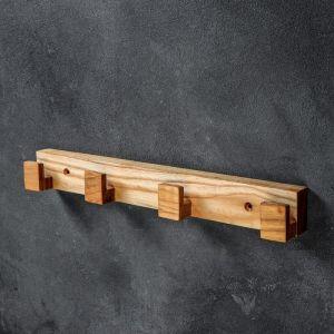 """Вешалка для кухни """"Эко"""", 40х5 см, массив ясеня   4694428"""
