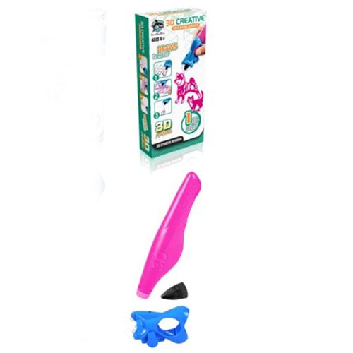 3D ручка Creative Drawing Pen, цвет-розовый.