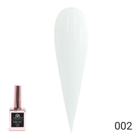 HARD GEL  гель для наращивания и укрепления ногтей 15ml №02 Global Fashion