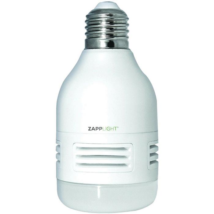 Лампочка - отпугиватель насекомых Zapp Light LED Light Bulb & Sonic Rodent Repeller