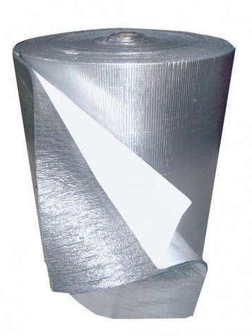 Утеплитель фольгированный самоклеющийся Мосфол 10 мм, рулон 10 м²