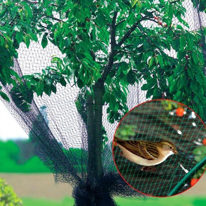 Сетка от птиц для защиты ягод и овощей, 2x10 м