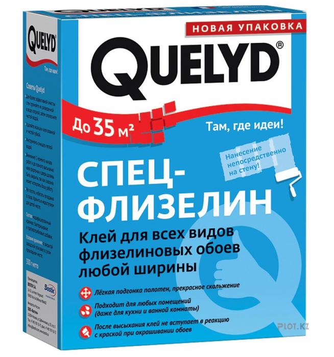 Обойный клей Quelyd Спец-флизелин для флизелиновых обоев, 300 г