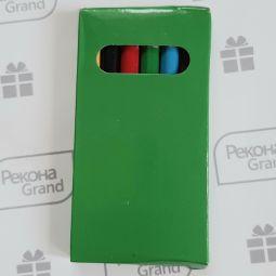 набор цветных карандашей с логотипом