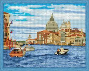 Алмазная мозаика «Водное такси» 40x50 см