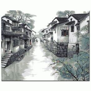 Картина по номерам «Восточная венеция» 50x65 см