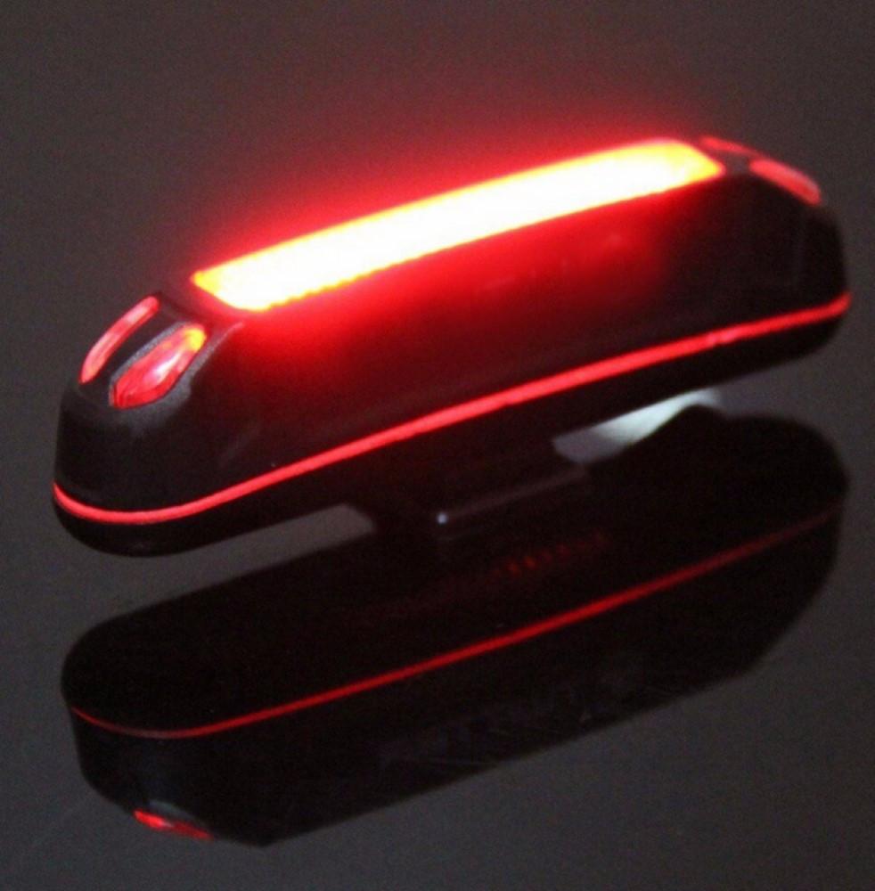 Ходовая велосипедная фара USB Rechargeable Head Light 100 Lumens+. Свет Желтый