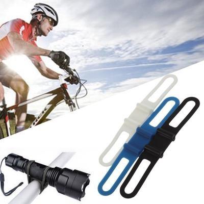Велосипедное силиконовое крепление универсальное Silicone Bandage