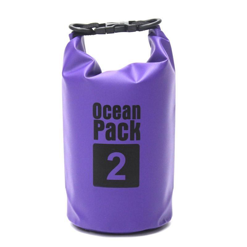 Водонепроницаемая сумка-мешок Ocean Pack 2 л. Цвет  Синий