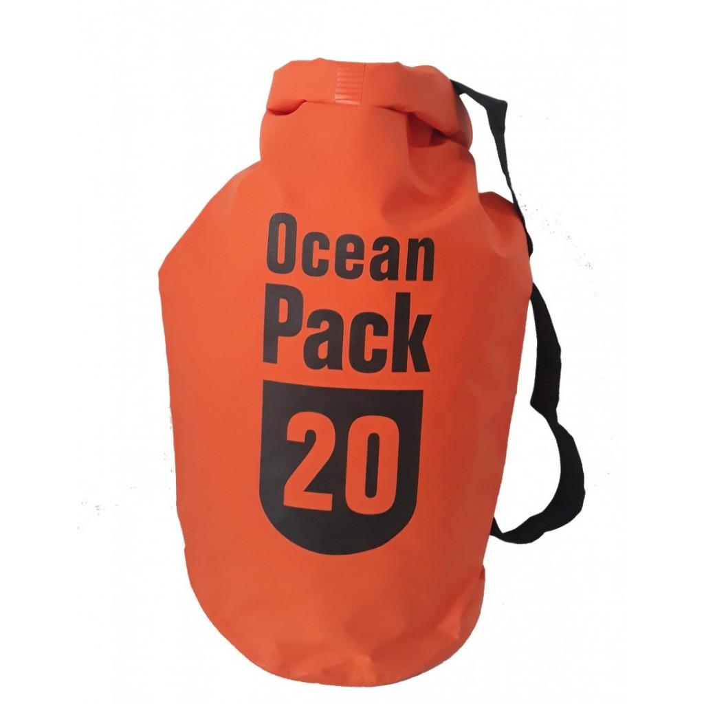 Водонепроницаемая сумка-мешок Ocean Pack, 20 L. Цвет  Оранжевый