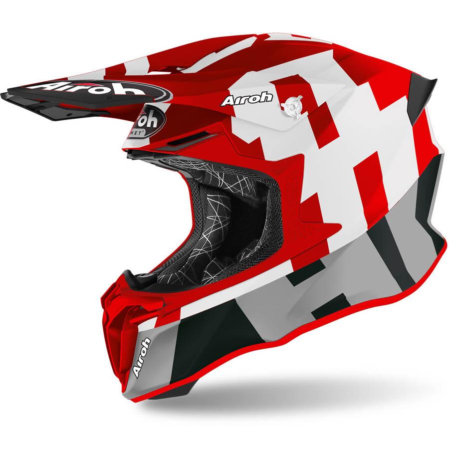 Airoh Twist 2.0 Frame Red Matt шлем внедорожный