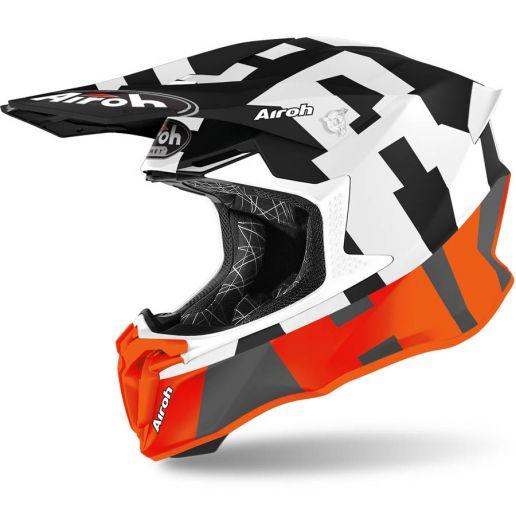 Airoh Twist 2.0 Frame Orange Matt шлем внедорожный