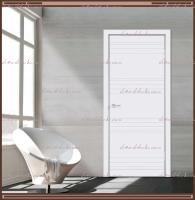 Межкомнатная дверь SCANDI N Глухое Эмаль RAL 9003 Белый :