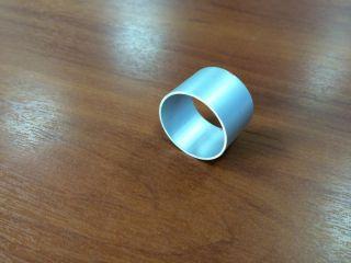 Труба алюминиевая для весел Ф35 мм 1 метр