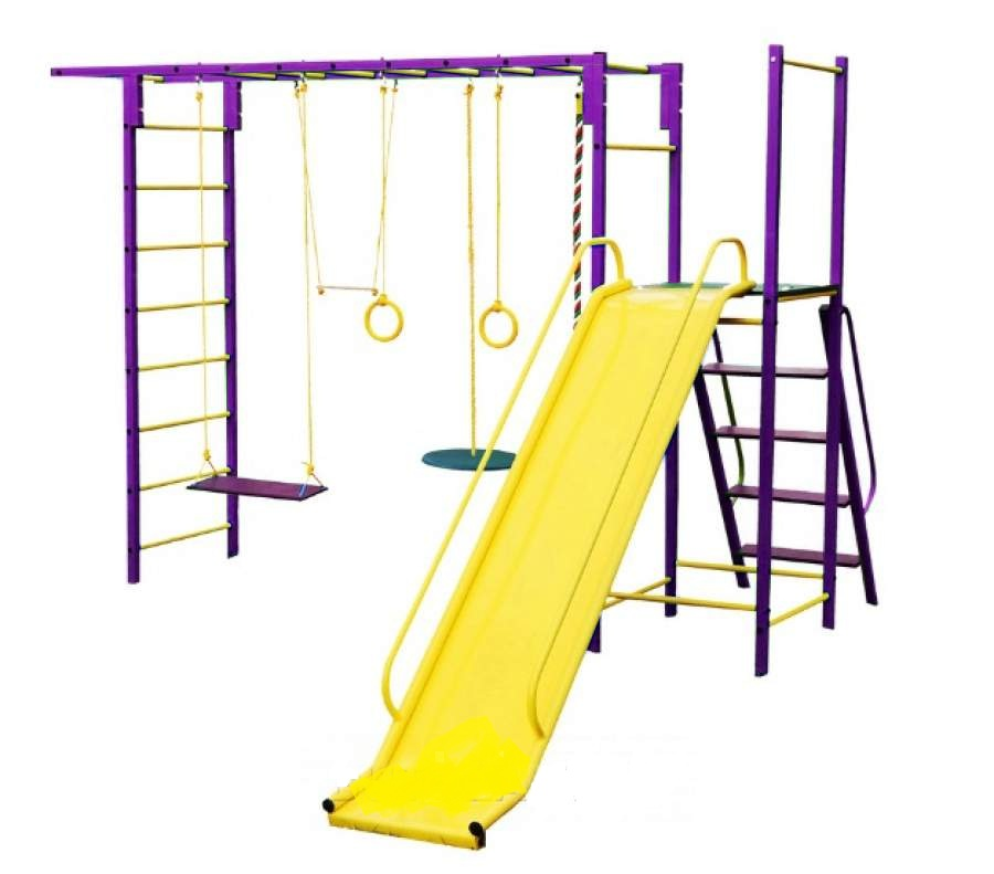 Детский спортивный комплекс Олимпик 6.3, фиолетовый