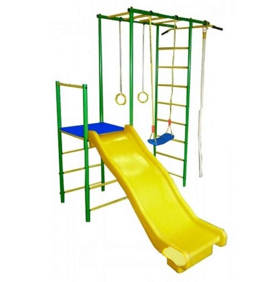 Детский спортивный комплекс Олимпик 6, зеленый