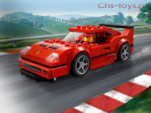 Конструктор Lari Speeds Champion Автомобиль Ferrari F40 Competizione 11253 (75890) 186 дет