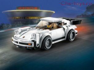 Конструктор Lari Speeds Champion 1974 Porsche 911 Turbo 3.0 11402 (75895) 186 дет
