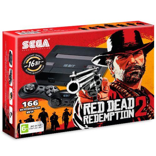 Sega Super Drive Red Dead Redemption 2 (166-in-1) Black.