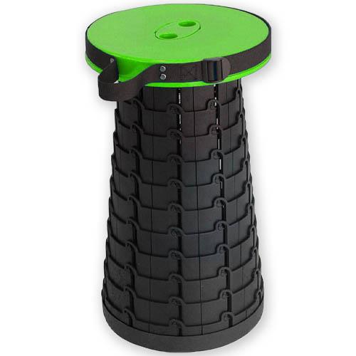 Складной походный табурет Telescopic Stool. Цвет Зелёный