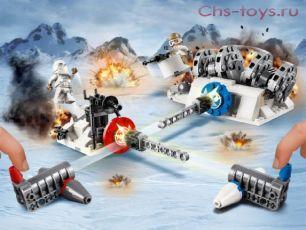 Конструктор Lari Звездные войны Разрушение генераторов на Хоте 11418 (75239) 247 дет