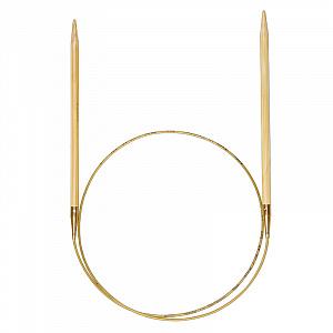 Спицы ADDI БАМБУКОВЫЕ круговые (555-7)
