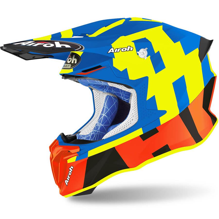 Airoh Twist 2.0 Frame Azure Matt шлем внедорожный